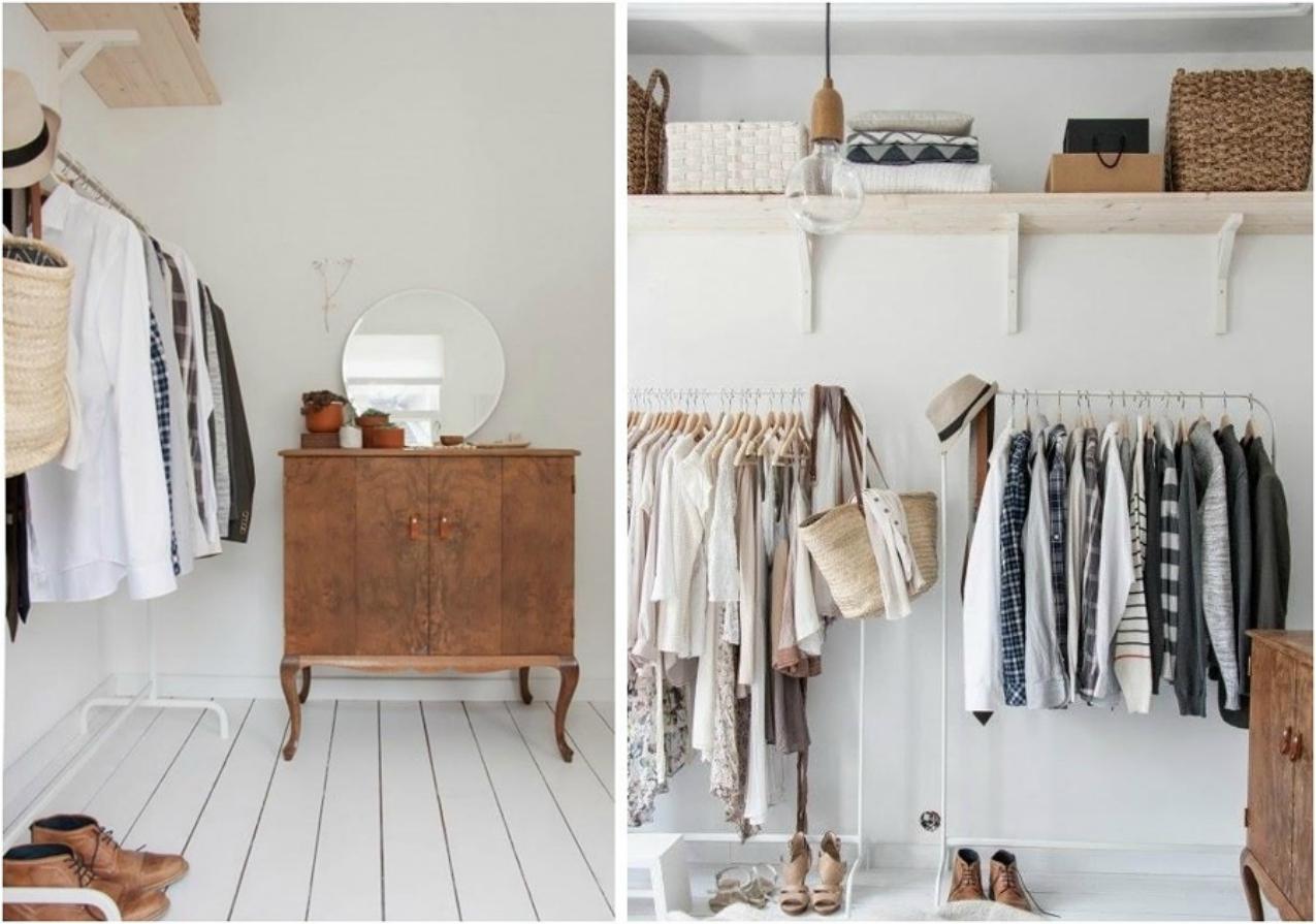 Diy armadio a vista fai da te thechilicool fashion blog - Cabina armadio fai da te ...