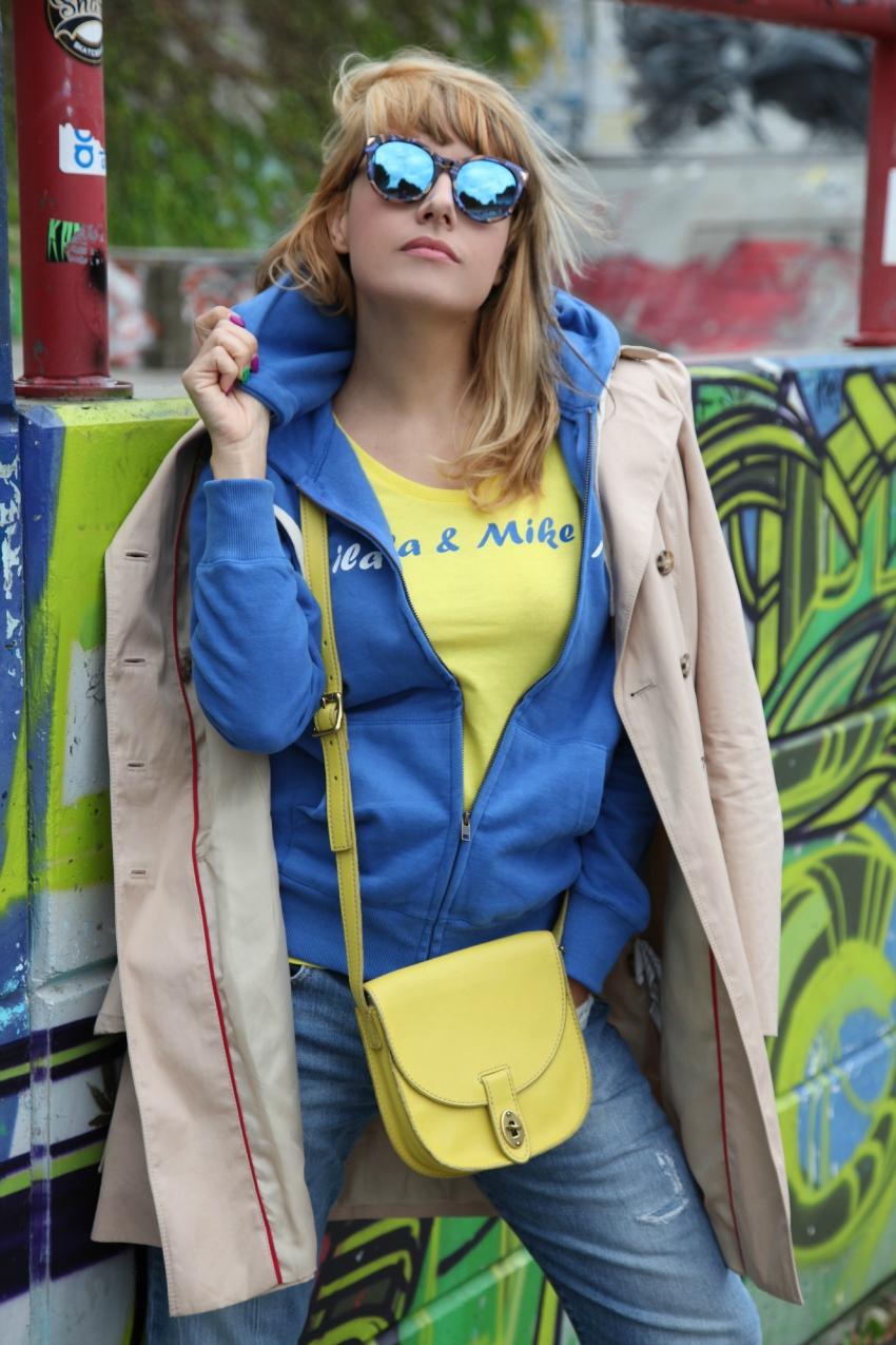 pensieri che scorrono, una felpa e la pioggia , alessia milanese, thechilicool, fashion blog, fashion blogger, ila&mike
