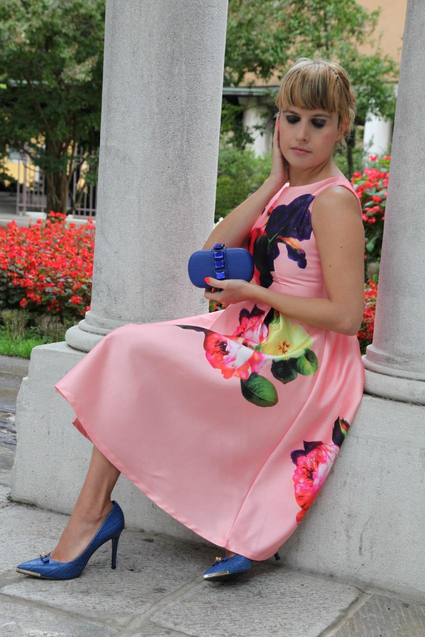 Rosa, fiori ed un camerino virtuale dal sapore speciale, alessia milanese, thechilicool, fashion blog, fashion blogger