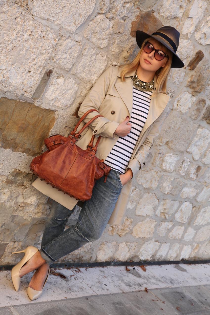 Cipria e righe per colazione. Tu, la felicità, inseguila., alessia milanese, thechilicool, fashion blog, fashion blogger, dudu bags