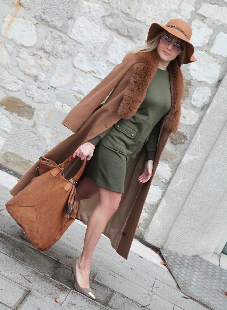 Perdere il cuore: storie di felicità con un abito ed un cappotto sulle spalle , alessia milanese,thechilicool, fashion blog, fashion blogger , inc by martina tittonel