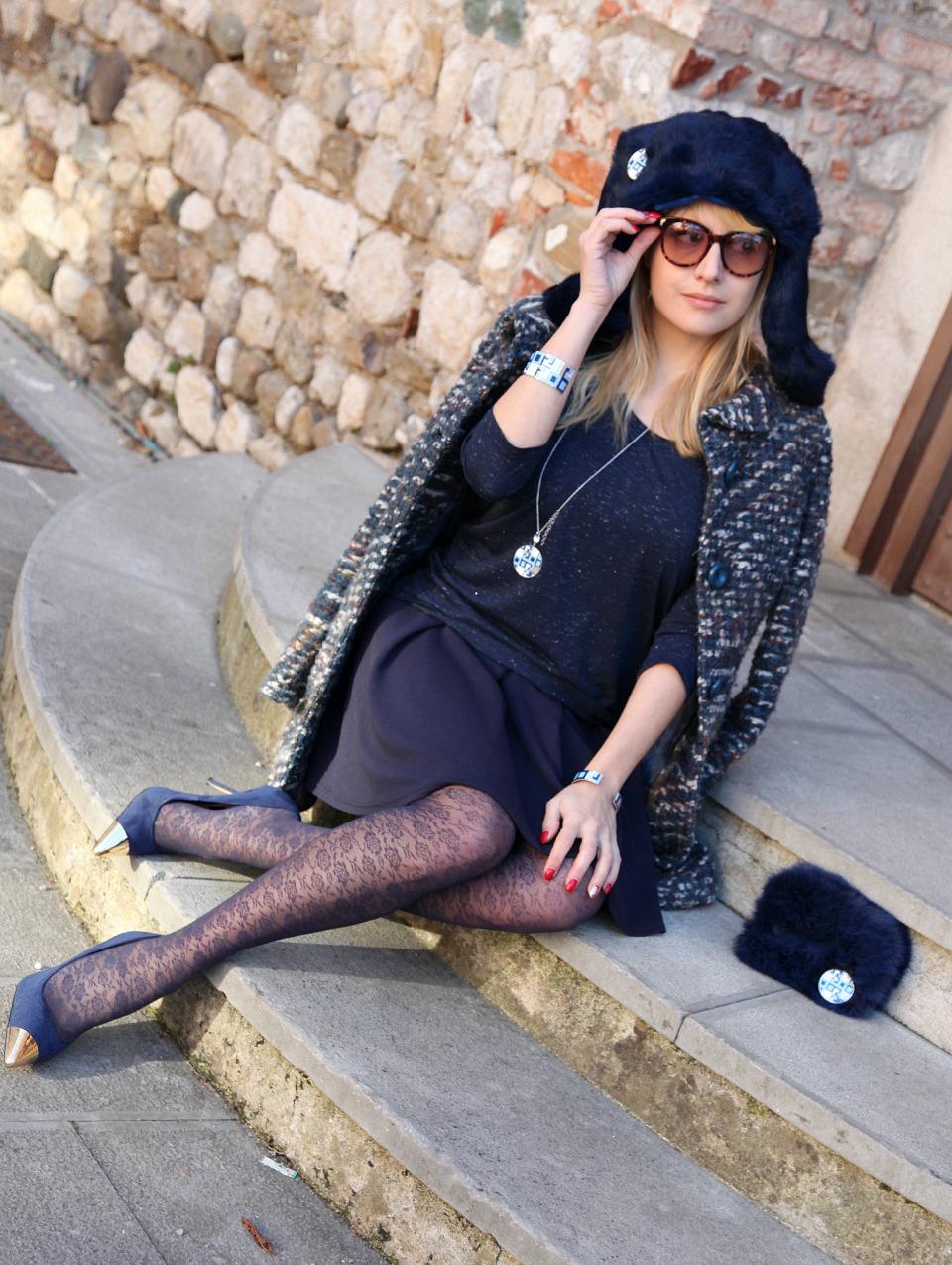 Blue Winter, alessia milanese, thechilicool, fashion blog, fashion blogger