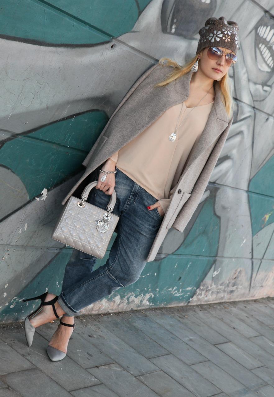 Come quando...storie di grigio, rosa e sorrisi, alessia milanese, thechilicool, fashion blog, fashion blogger, kemira gioielli, lady dior bag