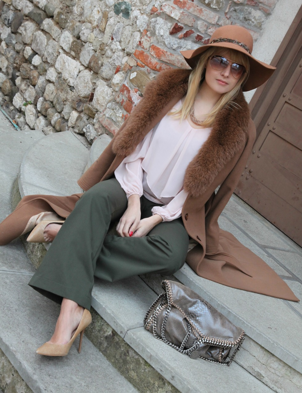 Desideri, inverno ed un cappotto color cammello, alessia milanese, thechilicool, fashion blog, fashion blogger, opposes complementaires, falabella stella mc cartney