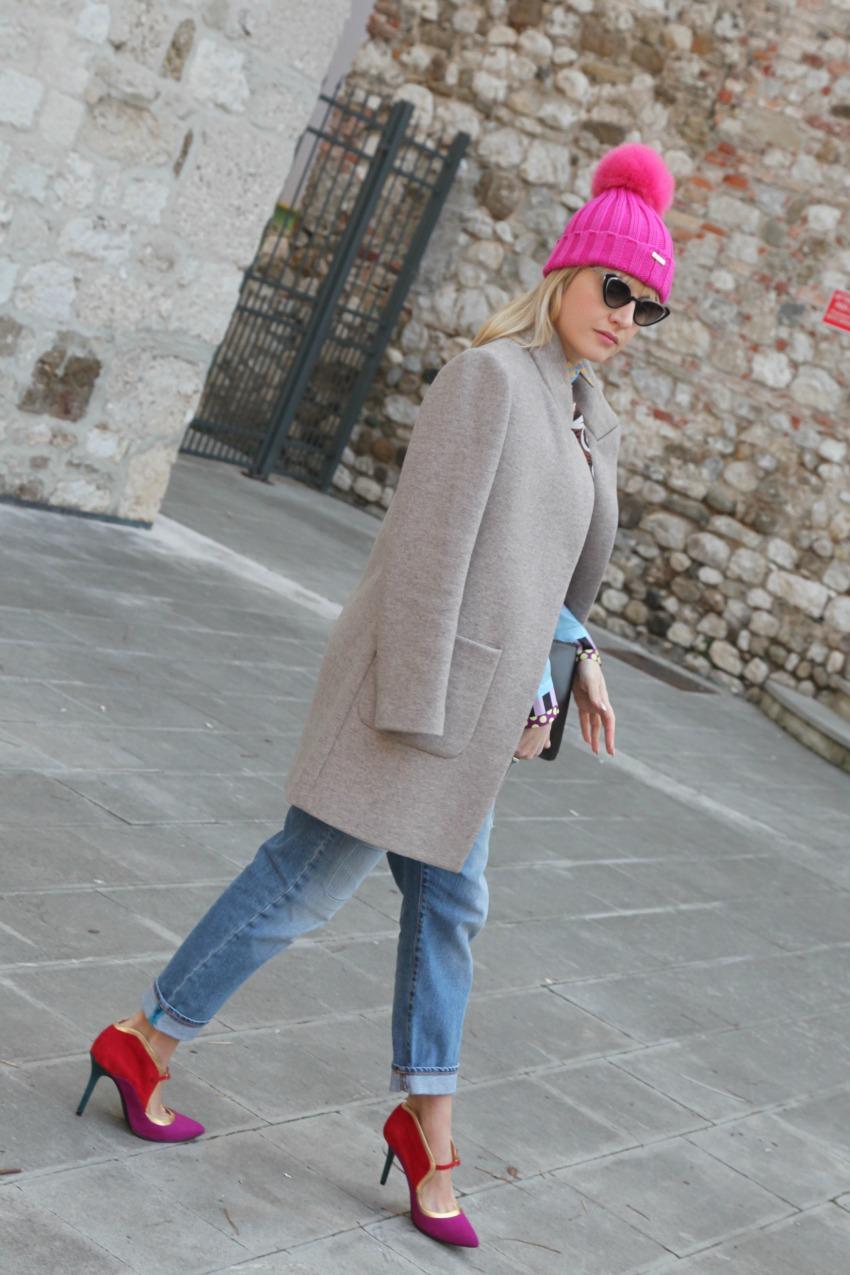 Soffice ed impalpabile. Storie di rosa e nubi.alessia milanese, thechilicool, fashion blog, fashion blogger, cuffie regina