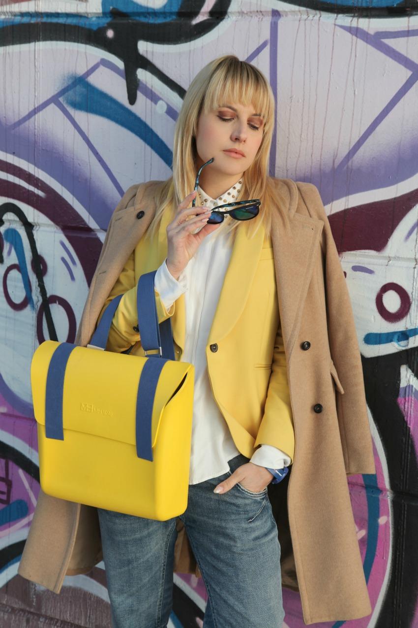 Sole, giallo e felicità, alessia milanese, thechilicool, fashion blog, fashion blogger, mh way