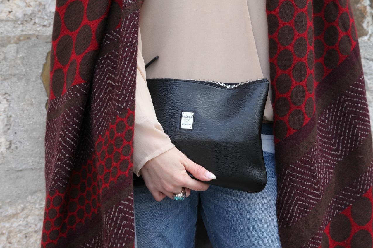 Qui e ora. Storie di grigio e burgundy, alessia milanese, thechilicool, fashion blog, fashion blogger , manila grace scarf