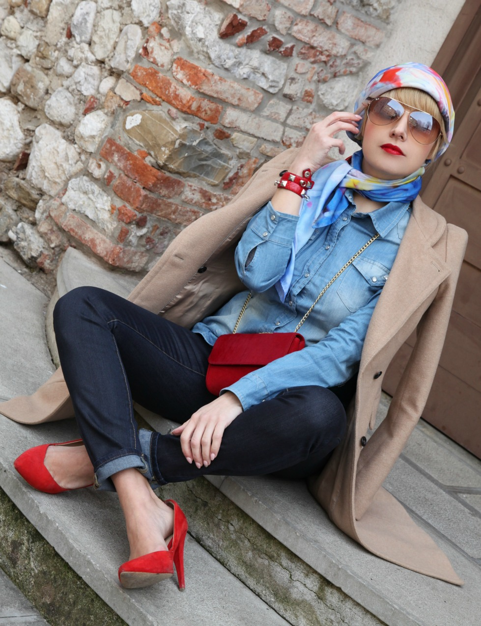 Style Corner: come indossare il foulard, alessia milanese, thechilicool, fashion blog, fashion blogger, quaranta locatelli foulard, a&a pelletteria