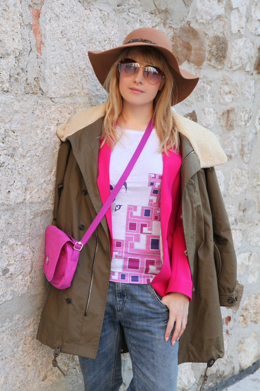 Pink...parka, alessia milanese, thechilicool, fashion blog, fashion blogger