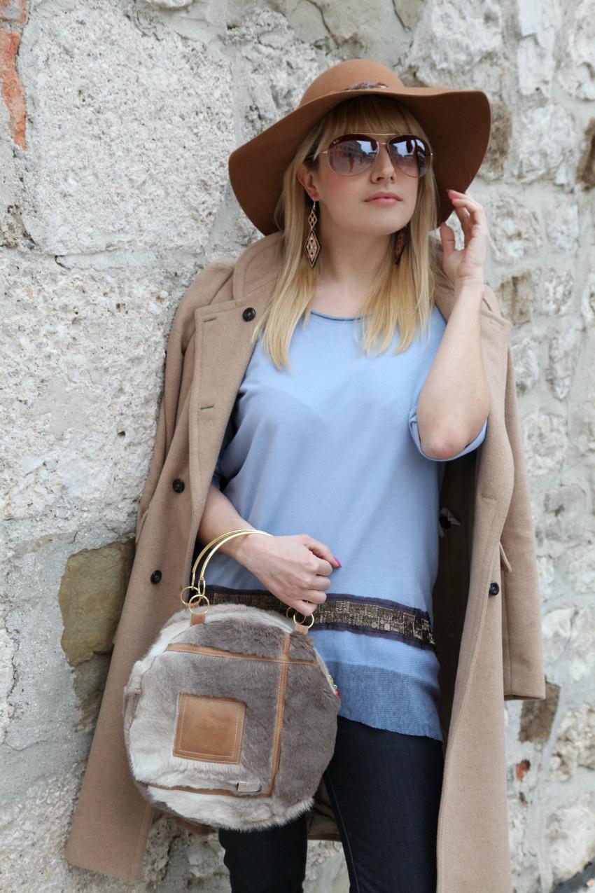 L'azzurro <i>guess</i> di certi cieli ed il vortice del lunedì, alessia milanese, thechilicool, fashion blog, fashion blogger, risskio, mnchili jewel bag