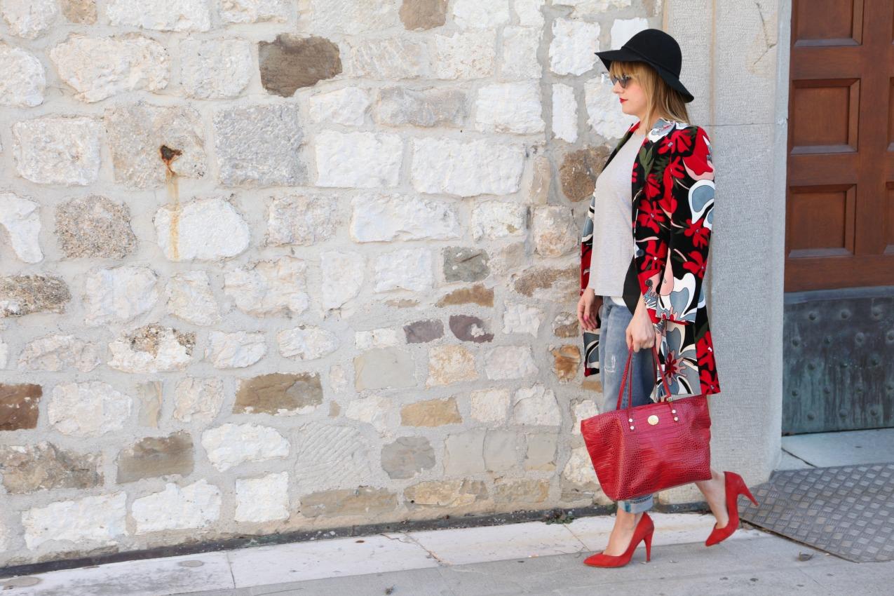 Sole, rosso e la poesia di un attimo, alessia milanese, thechilicool, fashion blog, fashion blogger, sisley, orobianco