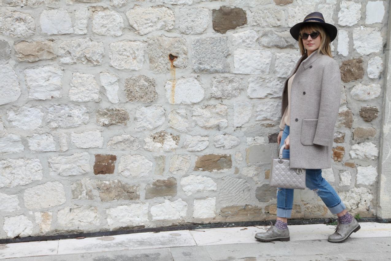 Gocce di pioggia e sogni del lunedì, alessia milanese, thechilicool, fashion blog, fashion blogger , deichmann , lady dior