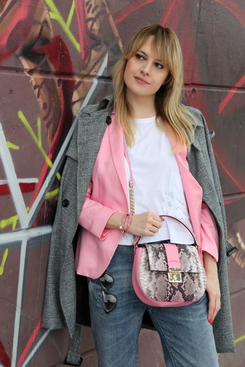 musica e brandelli di felicità a tinte rosa , alessia milanese, thechilicool, fashion blog, fashion blogger, ripani borse, endless jewelry