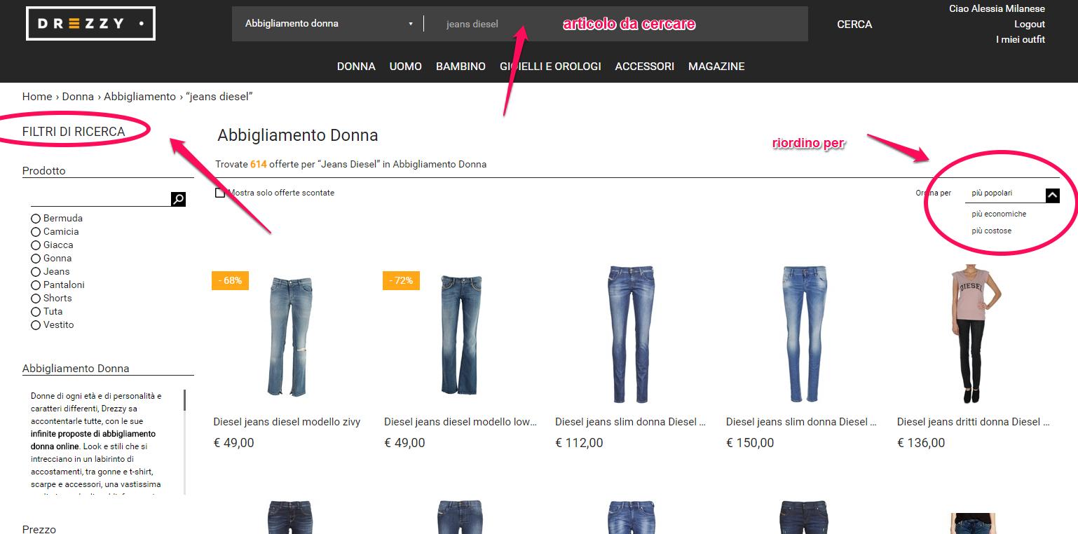 Altri Siti Come Dalani drezzy.it: il portale per trovare la moda che piace al