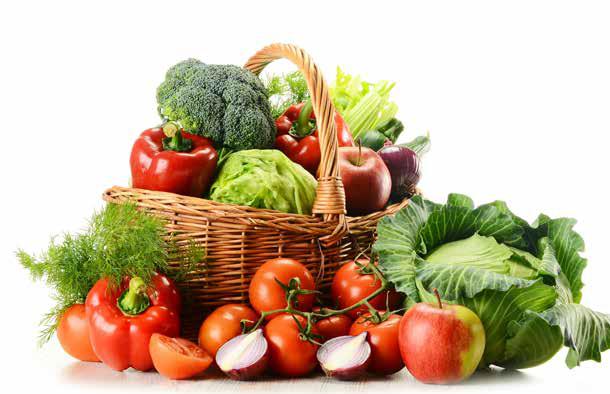 Piatto sano verdure