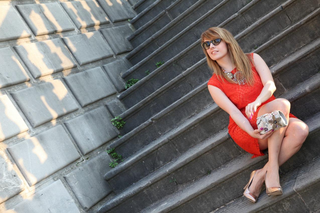 Di rosso, e di attimi da cristallizzare, alessia milanese, thechilicool, fashion blog, fashion blogger, ottaviani