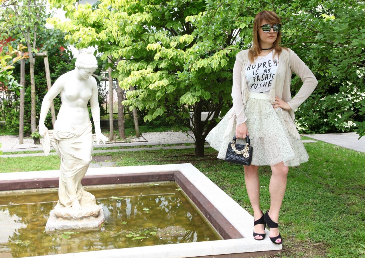 Un tutù e sognare di essere una ballerina , alessia milanese, thechilicool, fashion blog, fashion blogger, essedue occhiali, top dance