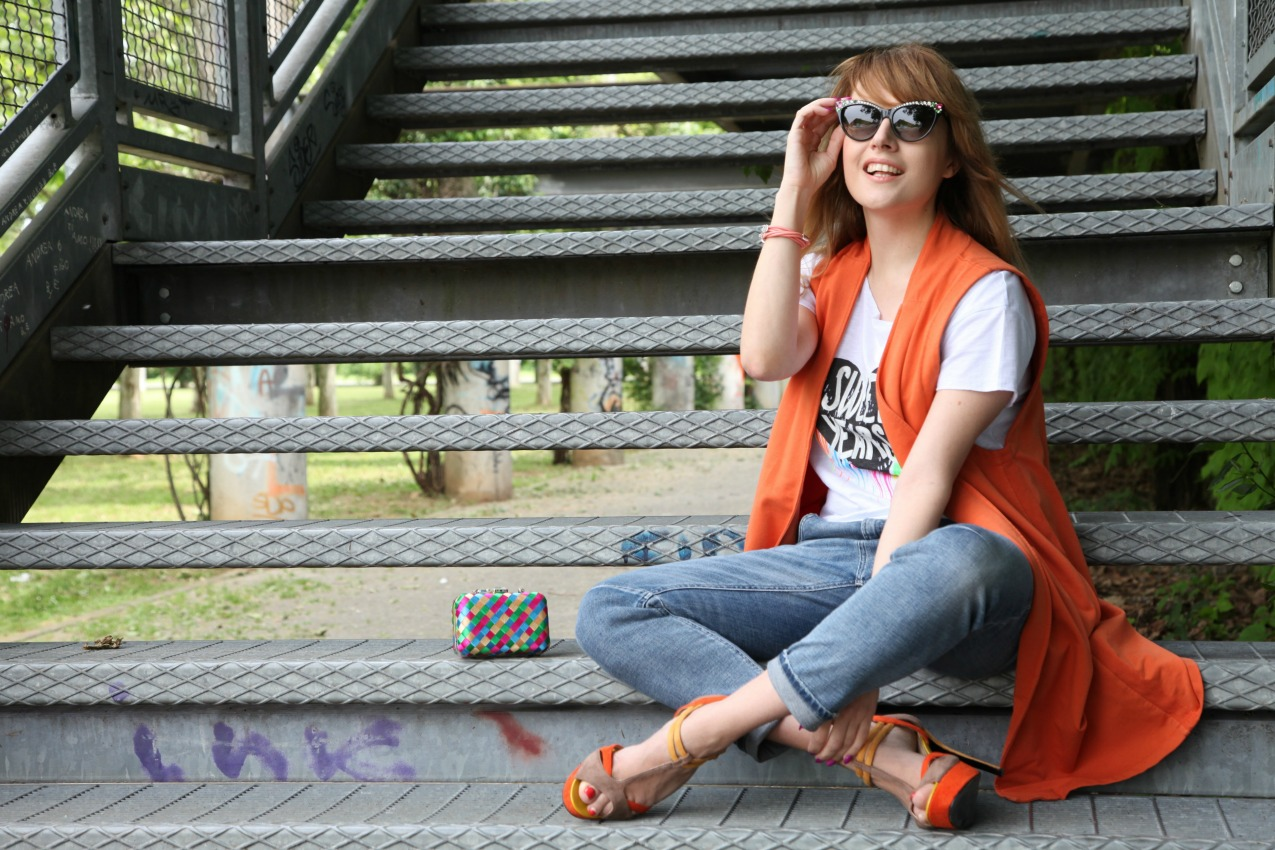 Stelle cadenti, incantesimi e cenni di arancio, alessia milanese, thechilicool, fashion blog, fashion blogger , risskio