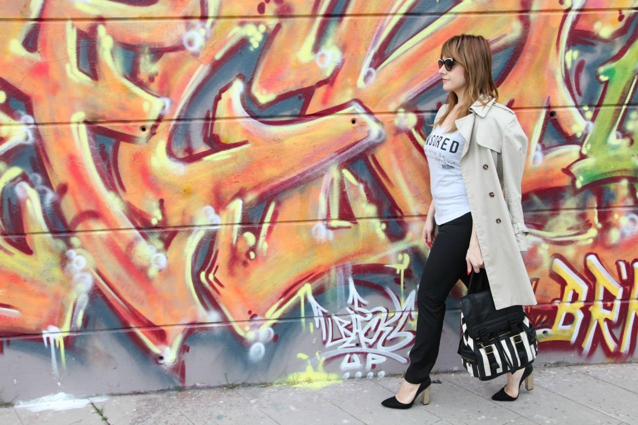 Righe, nero e leggerezza dei modi, alessia milanese, thechilicool, fashion blog, fashion blogger, risskio, lp confezioni