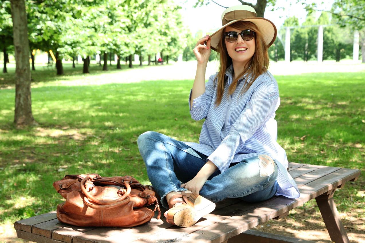 Tempo e le righe di una camicia, alessia milanese, thechilicool, fashion blog, fashion blogger