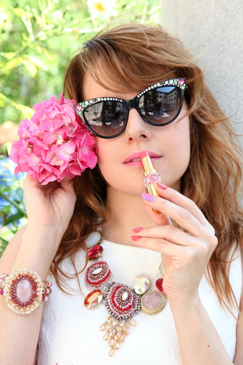 Ysl Rouge Volupte Shine: #itstimetoshine , alessia milanese, thechilicool, fashion blog, fashion blogger