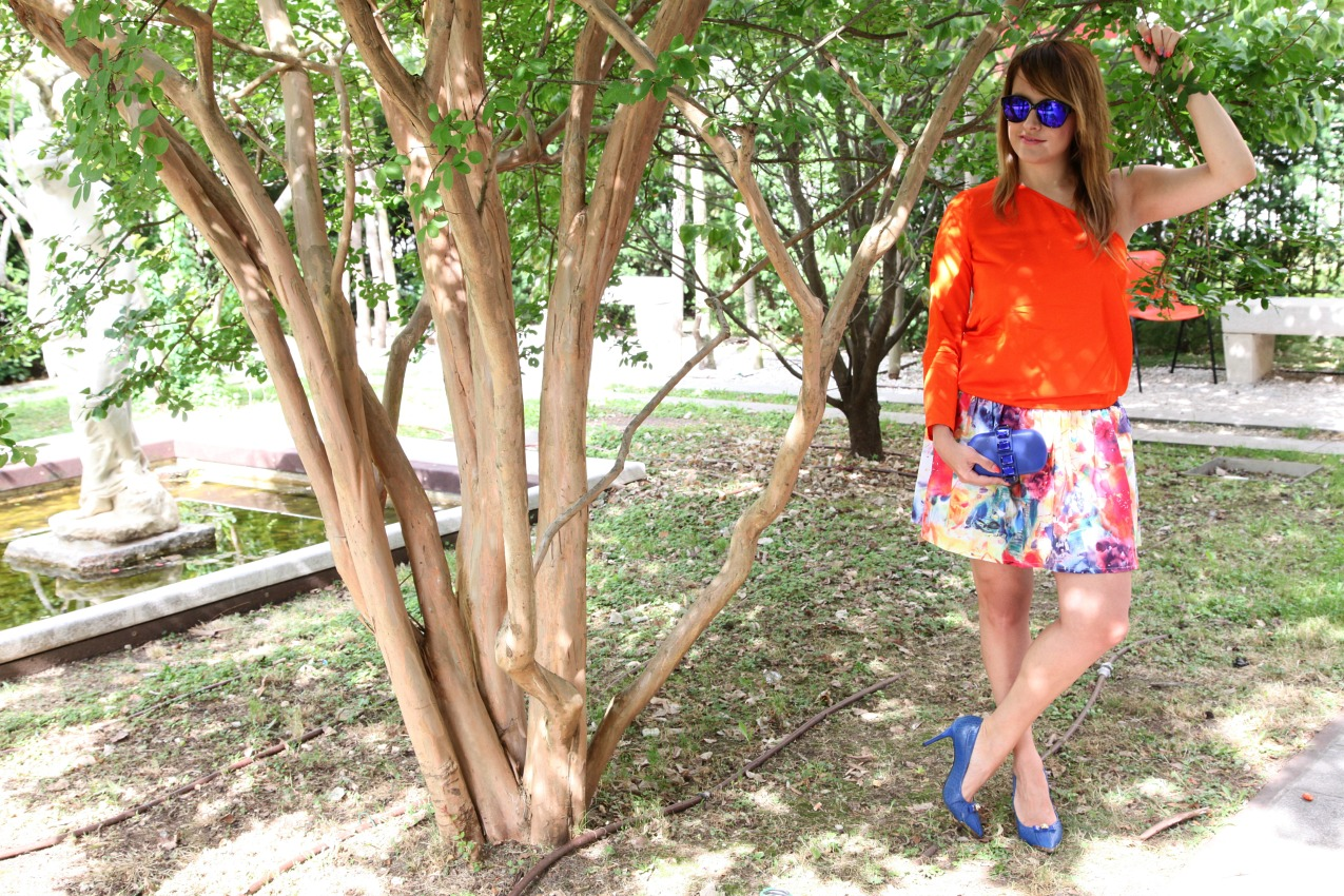 Storie di arancio e felicità, alessia milanese, thechilicool, fashion blog, fashion blogger, stella mc cartney dress
