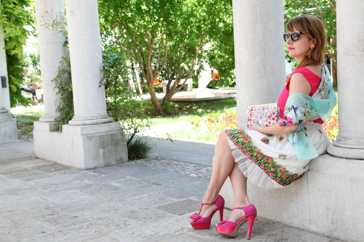 Fiori, rosa e oceani di desideri, alessia milanese, thechilicool, fashion blog, fashion blogger, accessorize