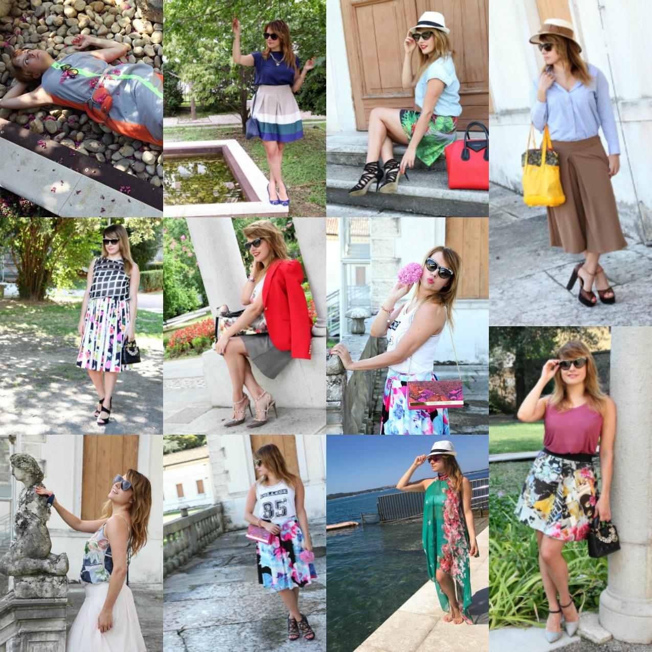 Best outfit Agosto 2016: emozioni e sensazioni tra fiori e colori, alessia milanese, thechilicool, fashion blog, fashion blogger