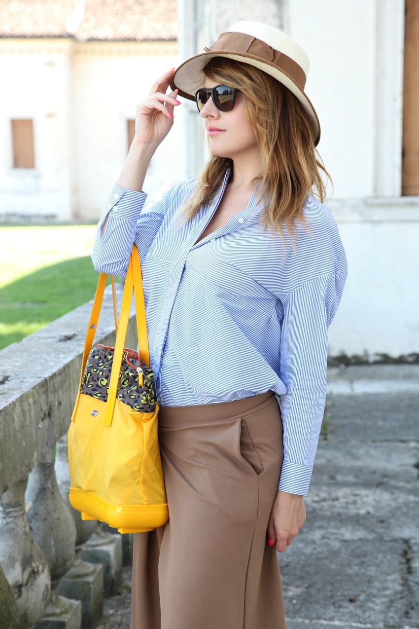I segni dell'ultimo sole, il giallo e scarpe per andare lontano, alessia milanese, thechilicool, fashion blog, fashion blogger, piero guidi borse