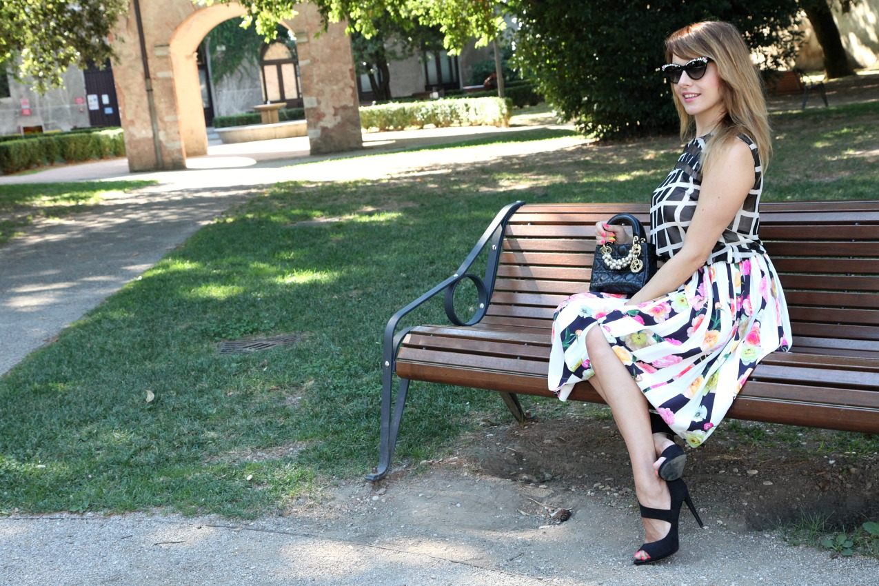 Fiori, albe e desideri, alessia milanese, thechilicool, fashion blog, fashion blogger, lady dior bag