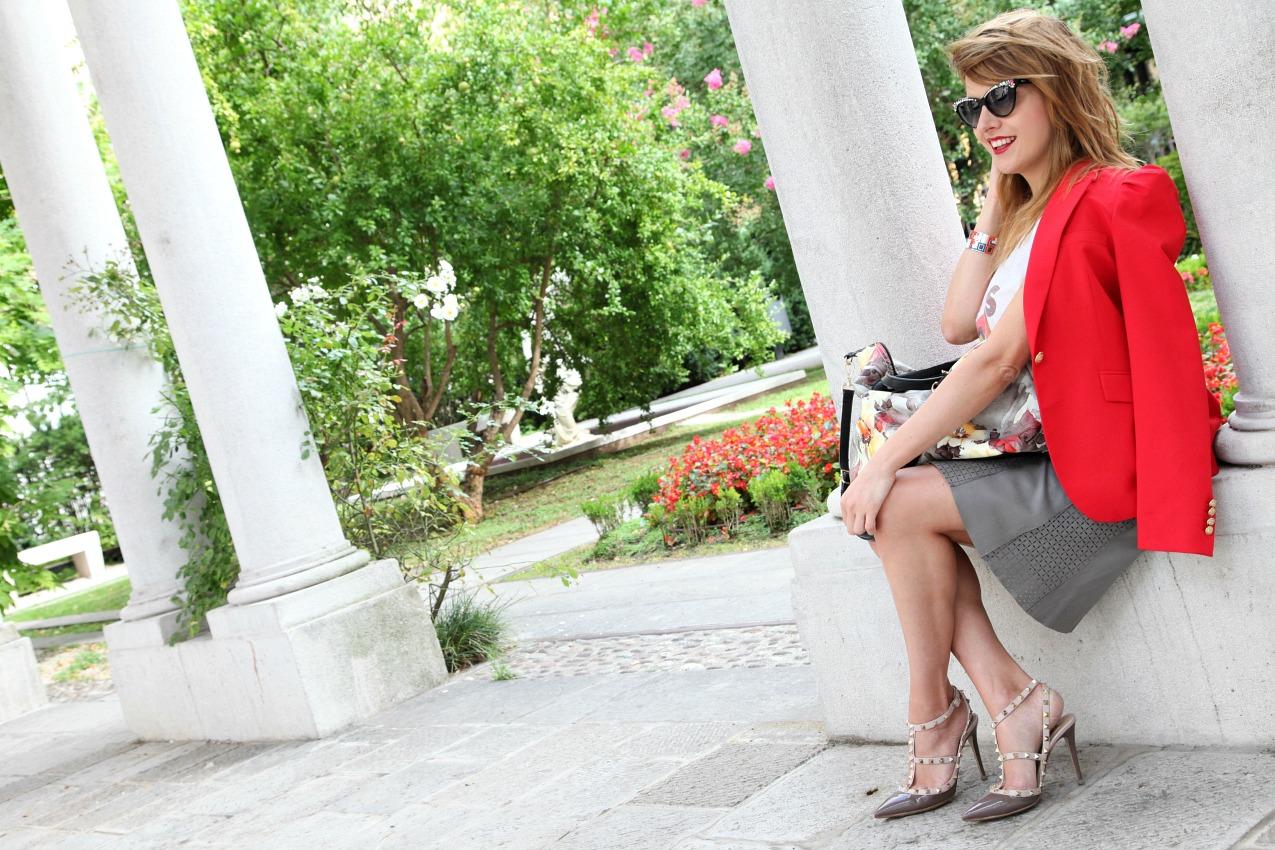 Frammenti di ricordi: storie di rosso e di fiori, alessia milanese, thechilicool, fashion blog, fashion blogger, caleidos