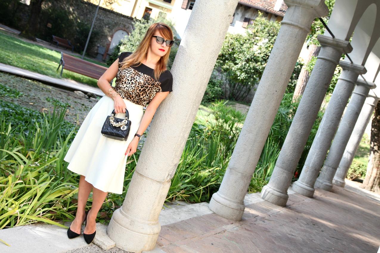 Tentare. Osare. Storie di stampe e bianco, alessia milanese, thechilicool, fashion blog, fashion blogger, lady dior bag