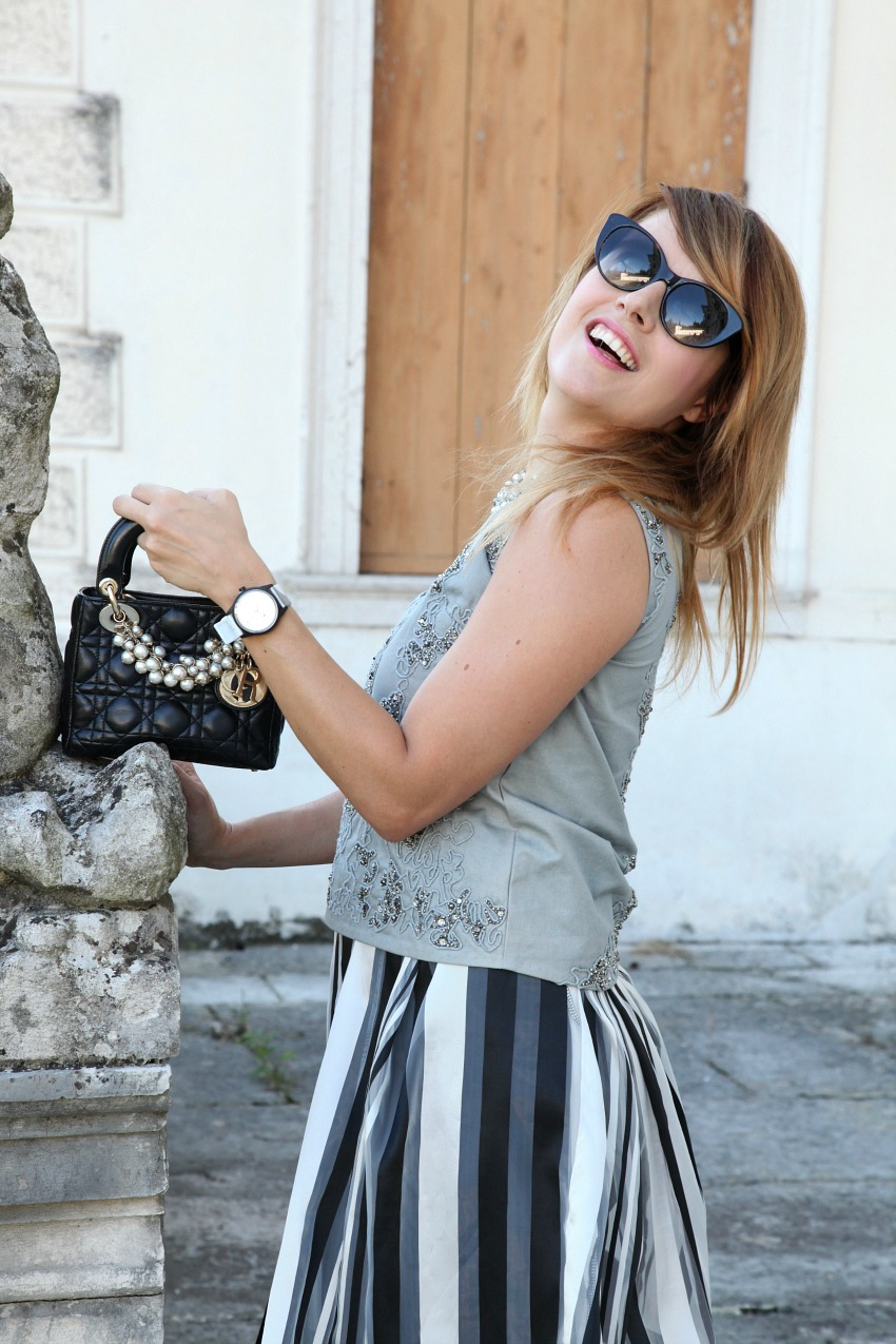 Il senso ed il valore del tempo - storie di grigio, alessia milanese, thechilicool, fashion blog, fashion blogger, lady dior bag
