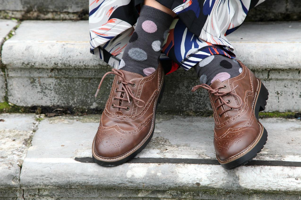 Palazzo pants, rosso e cenni di grigio, alessia milanese, thechilicool, fashion blog, fashion blogger, alessia milanese x deichmann
