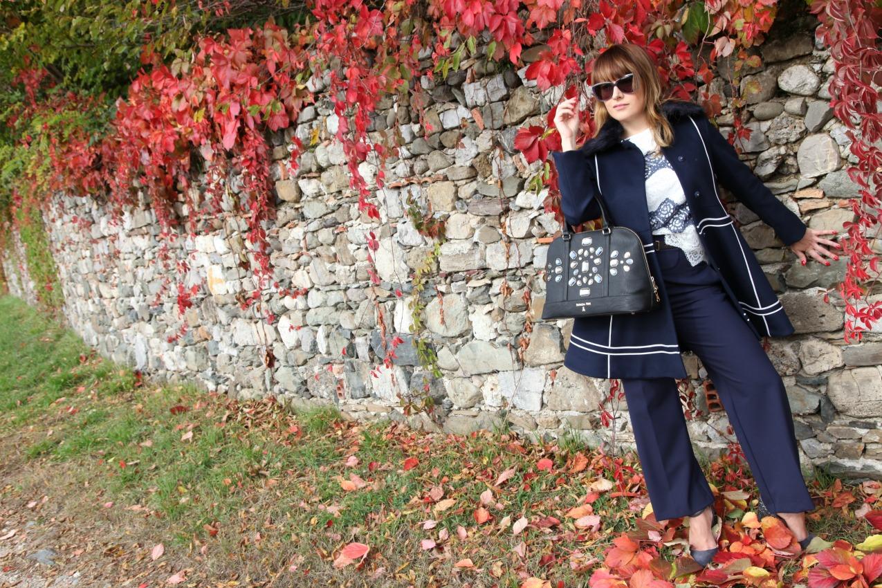 Blue fairy tale: la fiaba d'autunno firmata Arteni, alessia milanese, thechilicool,fashion blog, fashion blogger, patrizia pepe