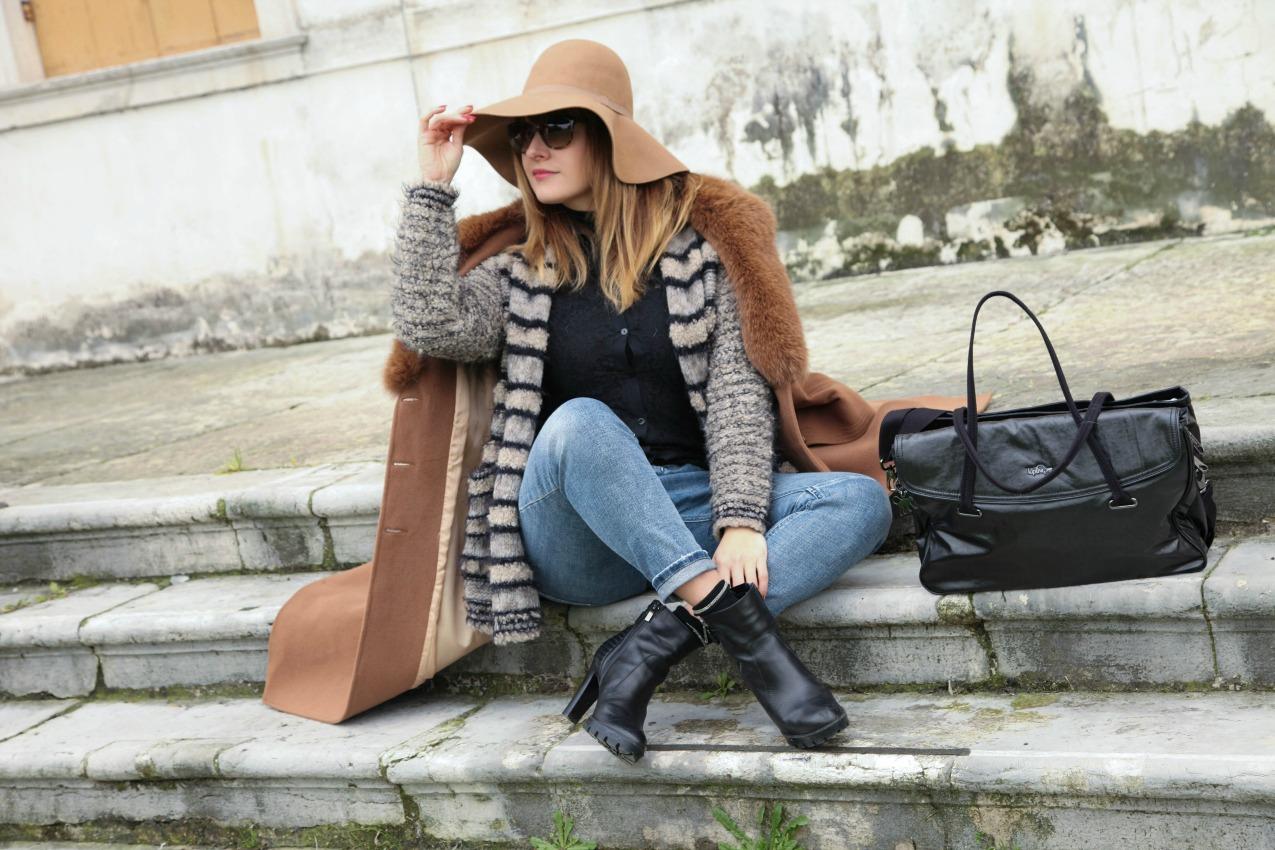 Prospettive, nebbia e tracce di nero, alessia milanese, thechilicool, fashion blog, fashion blogger, kipling bag