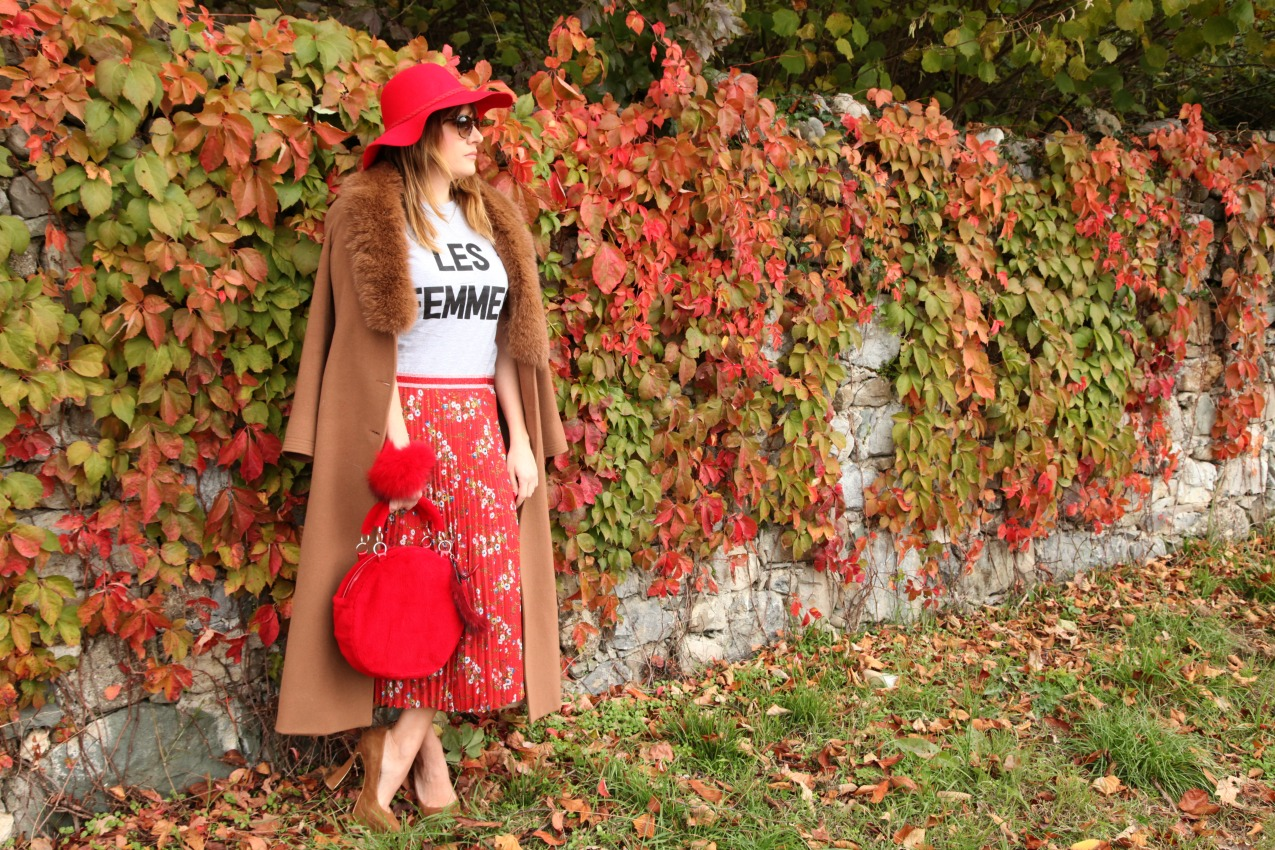 Fall...in red, alessia milanese, thechilicool, fashion blog, fashion blogger, mnchili capsule collection