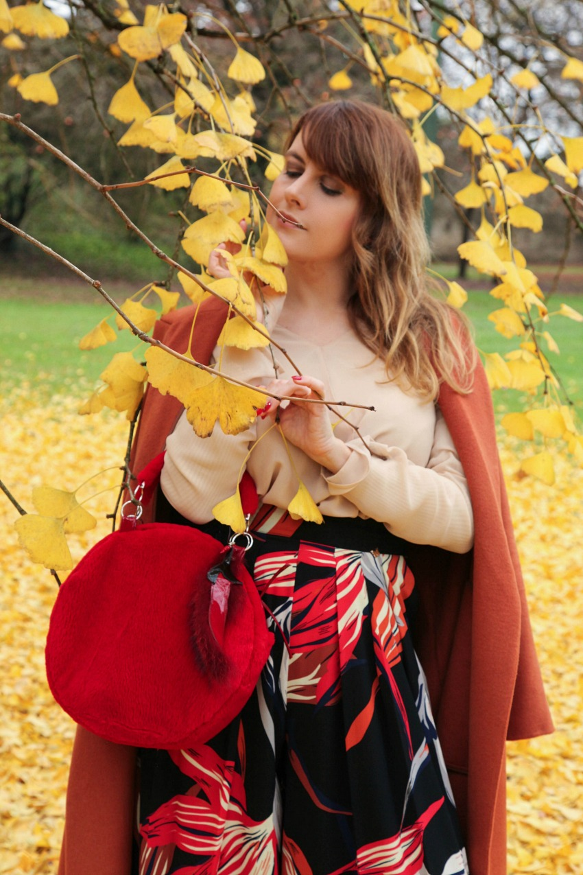 Yellow autumn: scelte di stile e shopping con sconti, alessia milanese, thechilicool, fashion blog, fashion blogger, mnchili jewel bag, zalando shop online