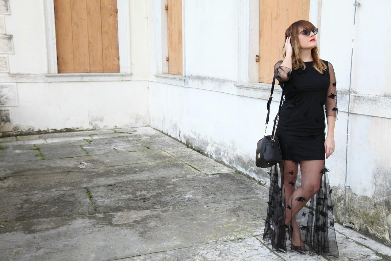 Mercoledì, interno giorno: Un abito, il tulle ed una giovane donna , alessia milanese, thechilicool, fashion blog, fashion blogger