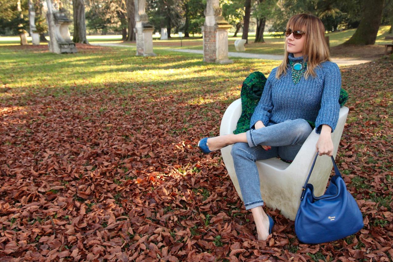 Mattino, prospettive e cenni di blu, alessia milanese, thechilicool, fashion blog, fashion blogger