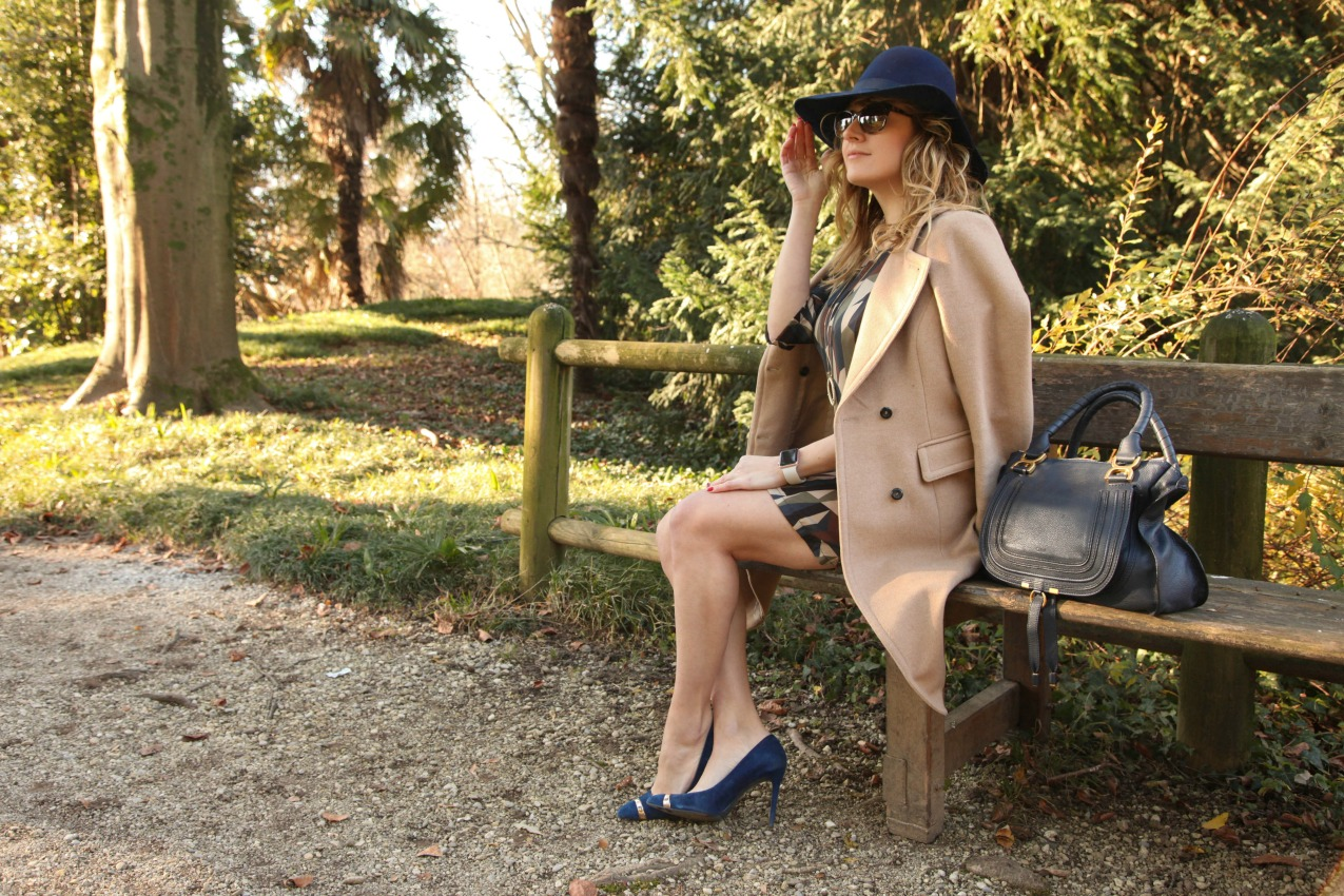 Un abito, l'inverno e cappotti color cammello, alessia milanese, thechilicool, fashion blog, fashion blogger