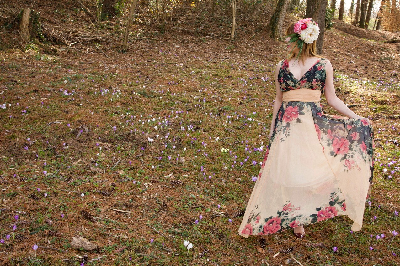Flowers' fairy tale, alessia milanese, thechilicool, fashion blog, fashion blogger