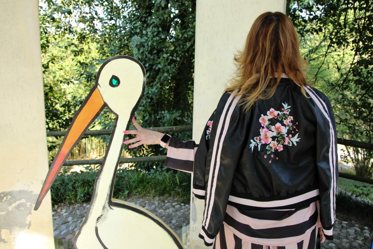 Di rosa, e delle righe, alessia milanese, thechilicool, fashion blog, fashion blogger