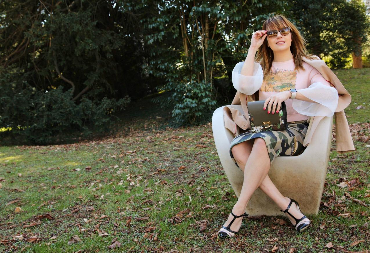 Nell'aria la primavera. Storie di rosa e stampe, alessia milanese, thechilicool, fashion blog, fashion blogger