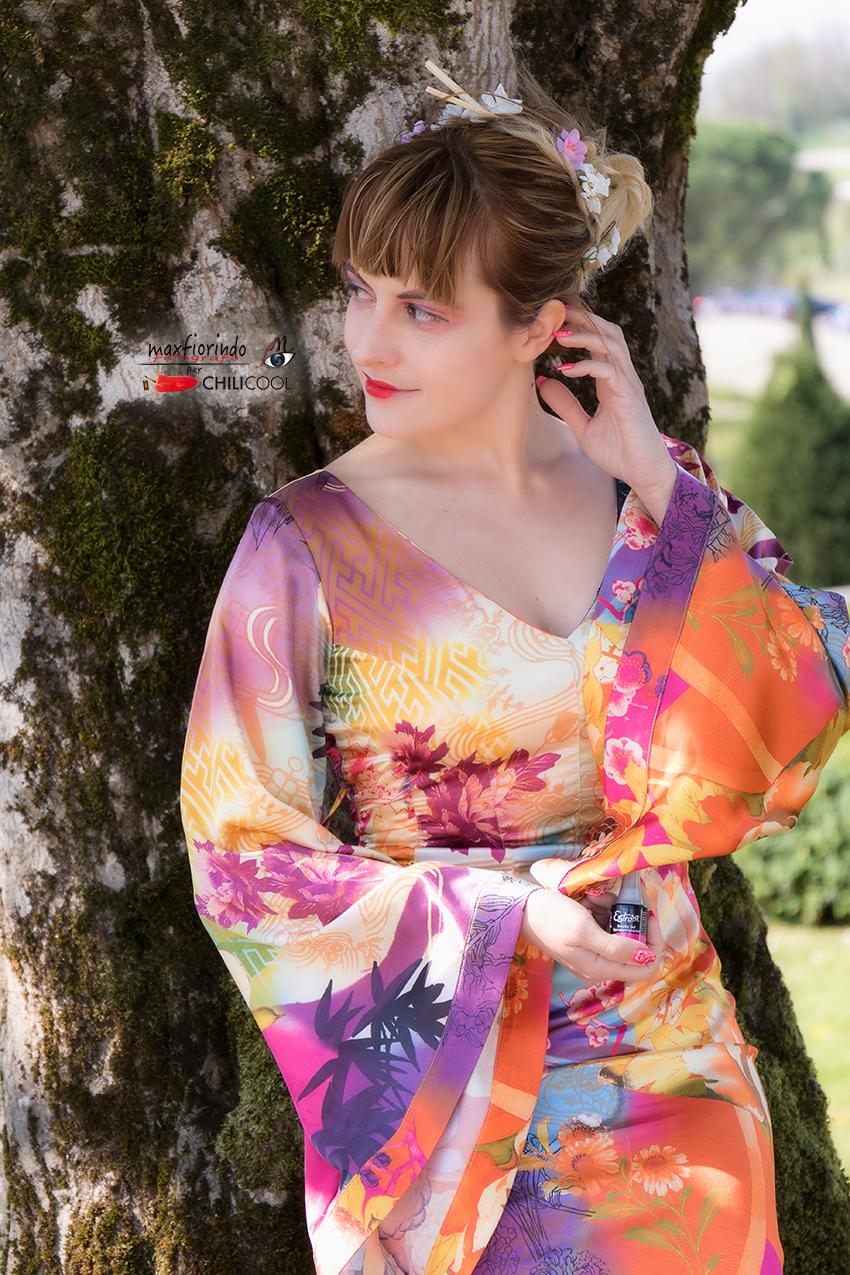 #JapaneseGlam: un viaggio in Giappone con i colori di Estrosa, alessia milanese, thechilicool, fashion blog, fashion blogger