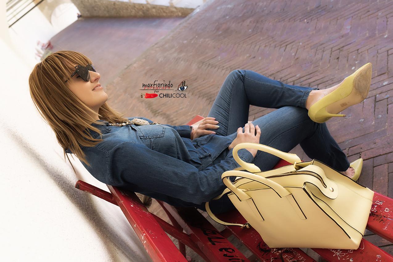 Giallo, i segni del primo sole ed una borsa speciale, alessia milanese, thechilicool, fashion blog, fashion blogger