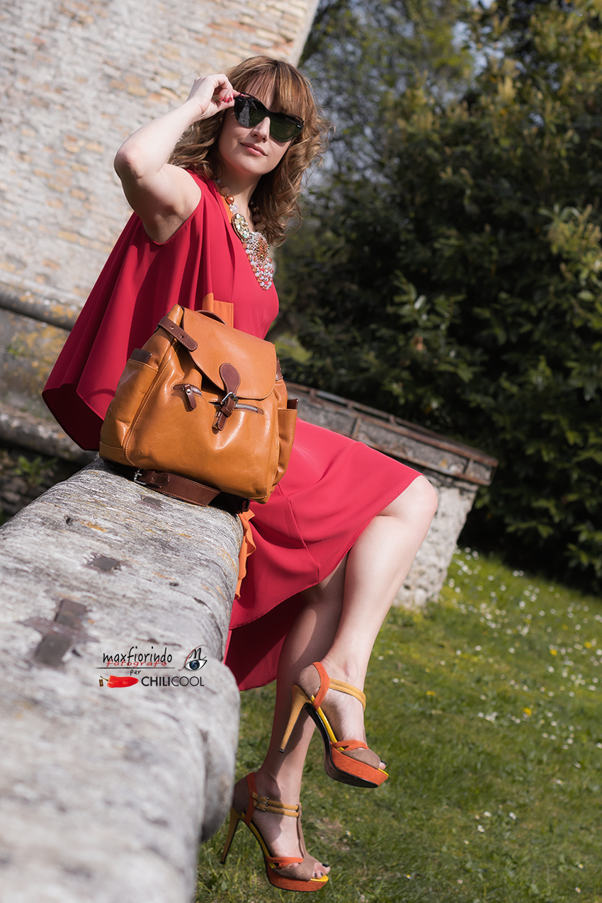 Storie di rosso e di fiabe sotto un cielo azzurro, alessia milanese, thechilicool, fashion blog, fashion blogger