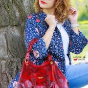 Denim&flowers: la fiaba di Cuoieria Fiorentina, alessia milanese, thechilicool, fashion blog, fashion blogger