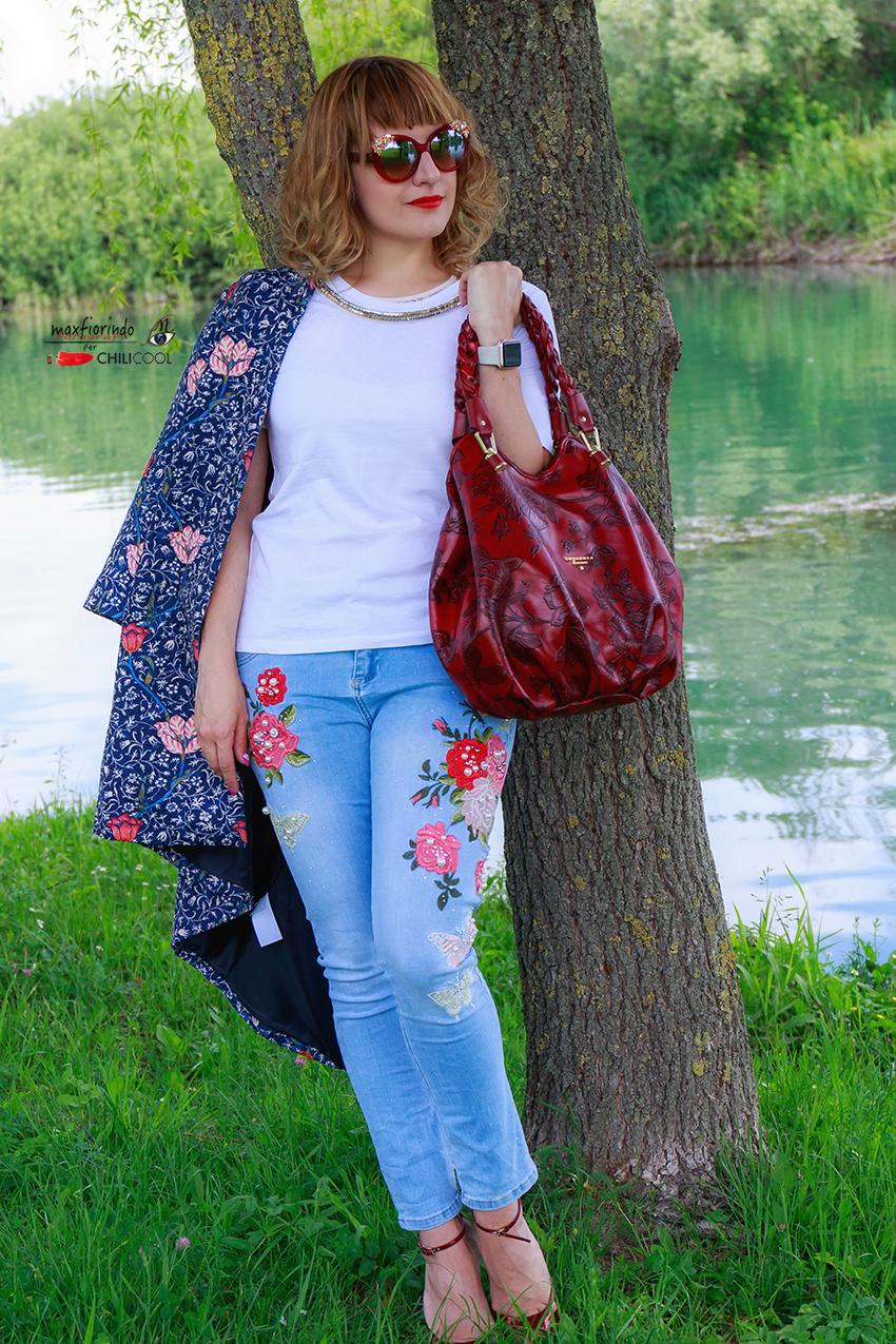 Denim&flowers: la fiaba di Cuoieria Fiorentina, alessia milanese, thechilicool, fashion blog, fashion blogger