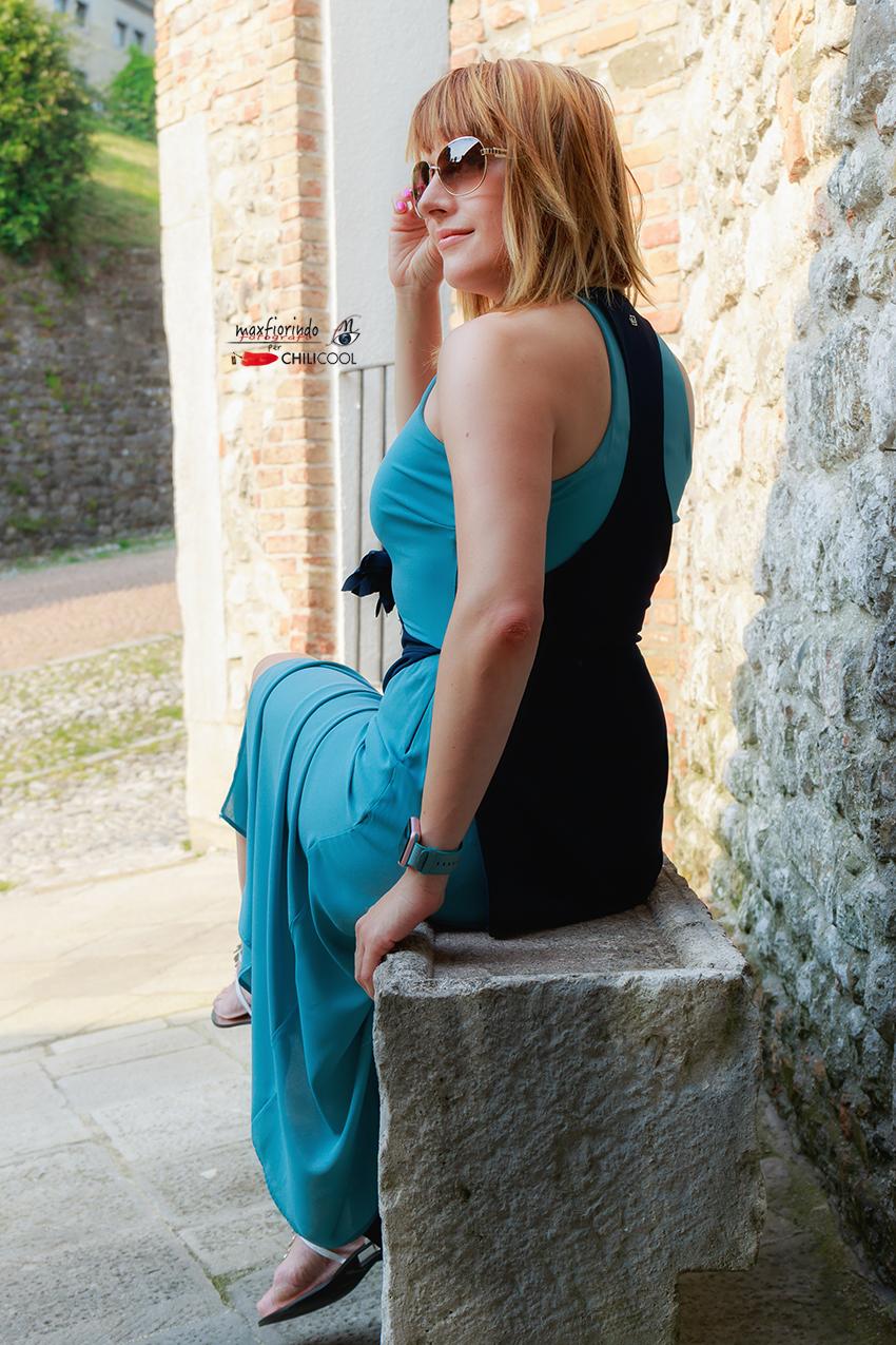 Storie di righe e sfumature blu d'estate, alessia milanese, thechilicool, fashion blog, fashion blogger